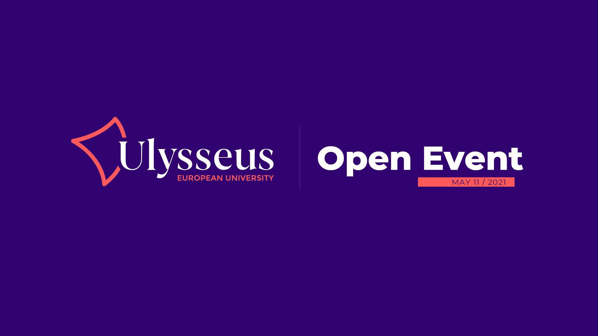 Registration for the Ulysseus Open Event on May 11 now open